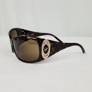 Chopard Crystals Tortoise Gradient Sunglasses